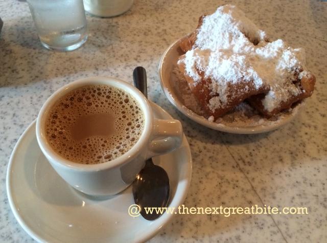 Beignets Cafe Du Monde, New Orleans, LA
