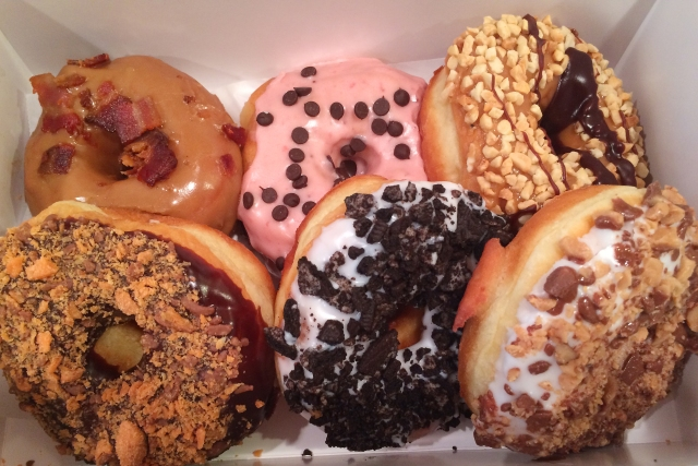 sugar shack assortment donuts