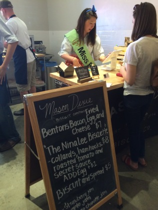 Mason Dixie Biscuit Company at Union Market DC