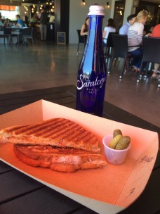 "Righteous Cheese Shop ""fancy"" grilled cheese"