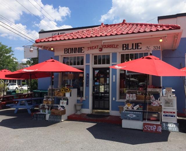 Bonnie Blue Winchester VA storefront