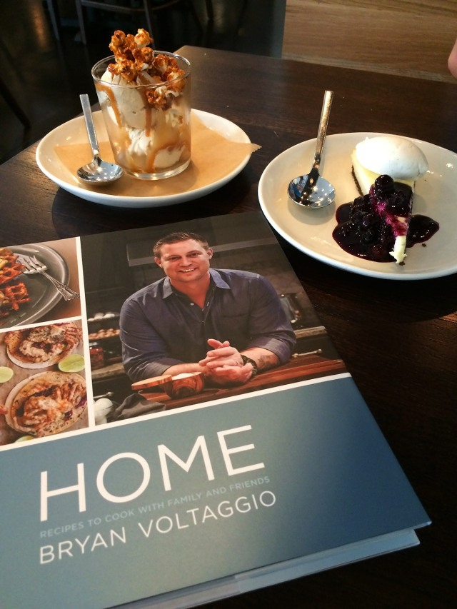 Home book and dessert